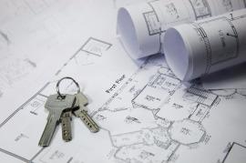Kerngold Immobilien Schlüssel und Pläne