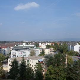Kerngold Immobilien Mannheim Gebäude mit Panorama