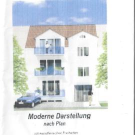 Kerngold Immobilien Mannheim Gebäude Zeichnung